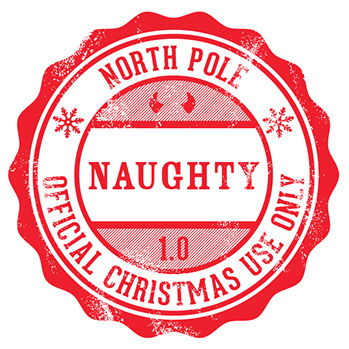Office of Santa, Naughty, stamp, Christmas, letters from santa, Elf ...